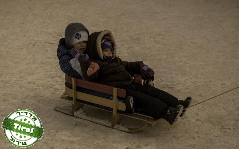 חופשת סקי עם ילדים בטירול